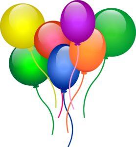 Bright air balloons