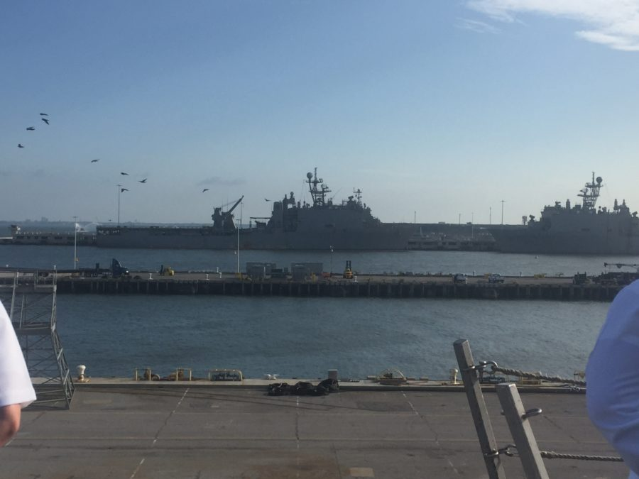 Full View of the USS Arlington
