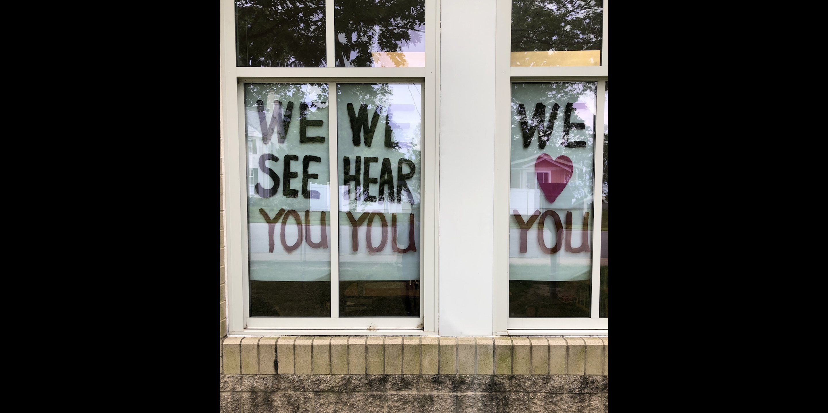 We See You – We Hear You – We Love You