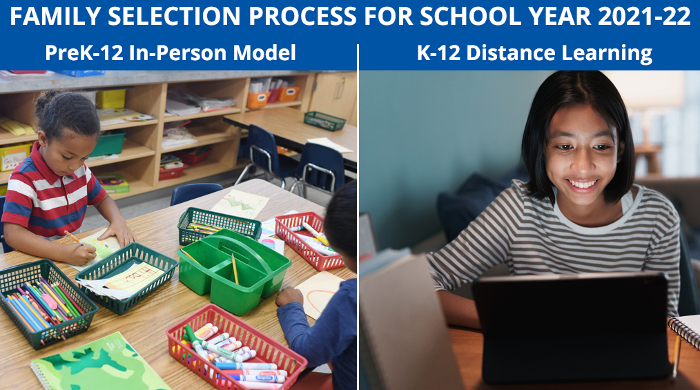 School Year 2021-22 Family Selection Process