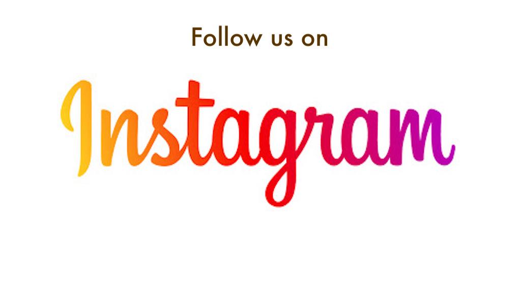We're on Instagram